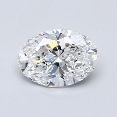 Recommended Stone #1: 0,89-Carat Oval Cut Diamond
