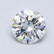 1,01 Carat Redondo Diamond Ideal F VVS2