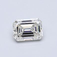 推薦鑽石 #4: 0.60  克拉綠寶石形切割鑽石