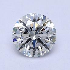 1,51-Carat Round Diamond Ideal E VS1