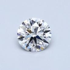 Recommended Stone #2: 0.58-Carat Round Cut Diamond