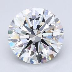 Recommended Stone #1: 3.25-Carat Round Cut