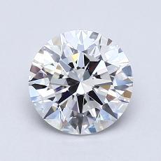 1.10-Carat Round Diamond Ideal E VVS2