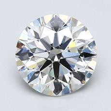推荐宝石 3:1.80克拉圆形切割钻石