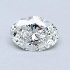 Recommended Stone #2: 0.73-Carat Oval Cut Diamond