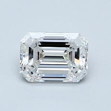 Recommended Stone #1: 0,90-Carat Emerald Cut Diamond