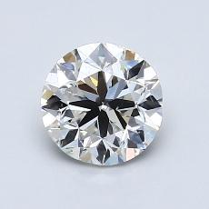 1.00 Carat 圓形 Diamond 非常好 H SI1