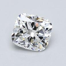 1,06-Carat Cushion Diamond Very Good F VS2