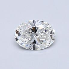 0.51-Carat Oval Diamond Very Good F VS2