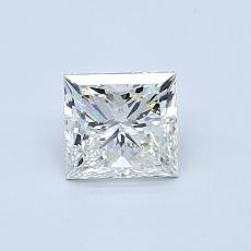 0.70-Carat Princess Diamond Very Good I VS2