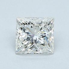 1.01-Carat Princess Diamond Very Good I SI1