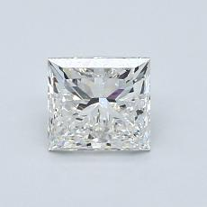 1.02-Carat Princess Diamond Very Good G VVS2