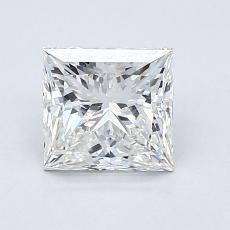 Recommended Stone #2: 1.30-Carat Princess Cut Diamond