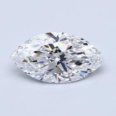 0.70-Carat Marquise Diamond Very Good D IF