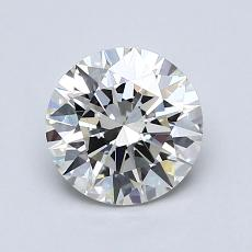 1,00-Carat Round Diamond Ideal I VS2