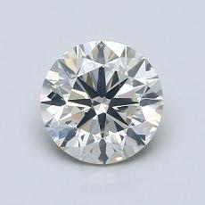 1.07-Carat Round Diamond Very Good K SI2