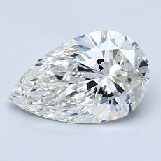 1.20-Carat Pear Diamond Very Good I VS1