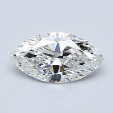 0,70-Carat Marquise Diamond Very Good D IF