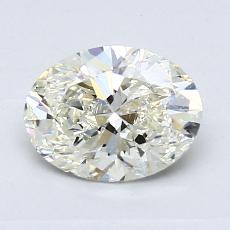Recommended Stone #2: 1.02-Carat Oval Cut Diamond