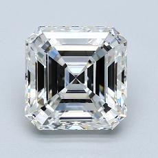 Recommended Stone #4: 3.00-Carat Asscher Cut Diamond
