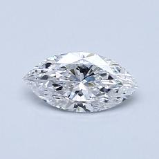 Recommended Stone #4: 0.42-Carat Marquise Cut Diamond