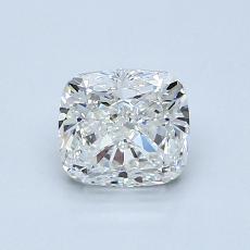 1.00 Carat 垫形 Diamond 非常好 H VVS2