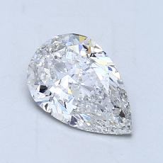Recommended Stone #4: 1.02-Carat Pear Cut Diamond