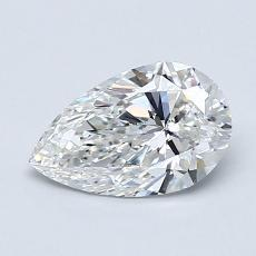 Recommended Stone #3: 0,90-Carat Pear Cut Diamond
