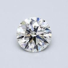 0.65-Carat Round Diamond Ideal G VS1