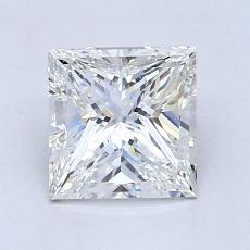 Recommended Stone #1: 1,50-Carat Princess Cut Diamond