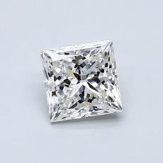 Recommended Stone #3: 0.77-Carat Princess Cut Diamond