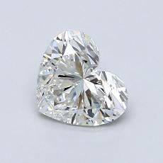Recommended Stone #3: 0,90-Carat Heart Cut Diamond