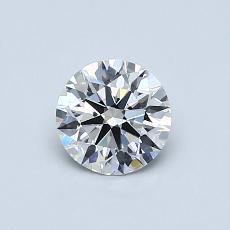 推荐宝石 2:0.62克拉圆形切割钻石