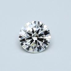 推荐宝石 3:0.40 克拉圆形切割