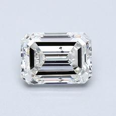 Recommended Stone #2: 0.90-Carat Emerald Cut Diamond