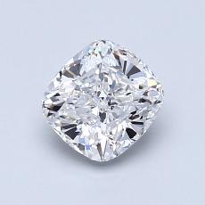 1.01 Carat 墊形 Diamond 非常好 D VVS1