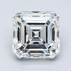 1,90-Carat Asscher Diamond Very Good F VS2