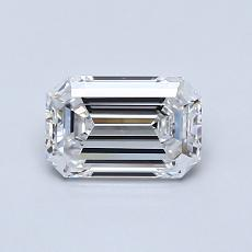 Recommended Stone #1: 0.75-Carat Emerald Cut Diamond