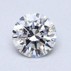 1.01 Carat 圓形 Diamond 理想 D SI1