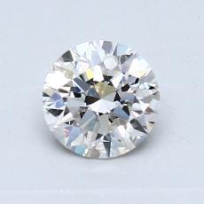 0,70-Carat Round Diamond Ideal I VS1