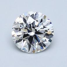 1.24 Carat 圆形 Diamond 理想 E VS2