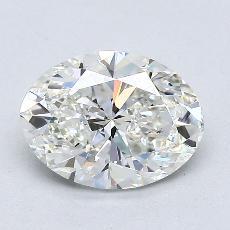 1.52-Carat Oval Diamond Very Good I VS2