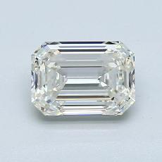 1.20-Carat Emerald Diamond Very Good J VVS2