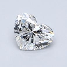 推薦鑽石 #2: 1.00 克拉心形切割鑽石