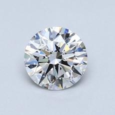 0.71 Carat 圆形 Diamond 理想 D SI1
