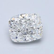 推荐宝石 3:1.29 克拉垫形钻石