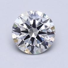 1.21 Carat 圆形 Diamond 理想 H VS2
