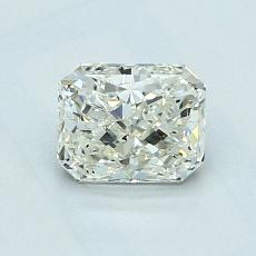 Recommended Stone #1: 1,01-Carat Radiant Cut Diamond