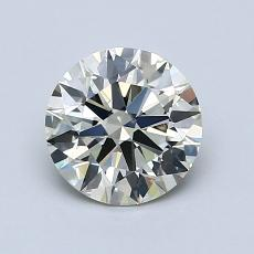 1,07-Carat Round Diamond Ideal K VS1