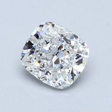 1.06-Carat Cushion Diamond Very Good F VVS1